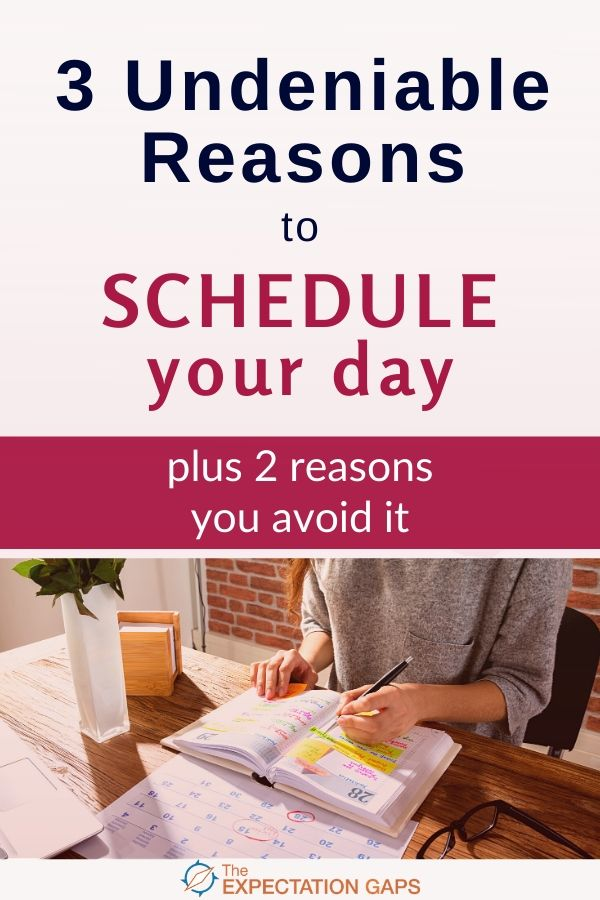 You know that you should schedule your day. I'm not telling you anything you haven't already heard a million times. But, maybe I can relay the message in a way that speaks to you. That actually inspires you to do it. Let's find out. #timemanagement #productivity #selfcare #intentionalliving #theexpectationgaps