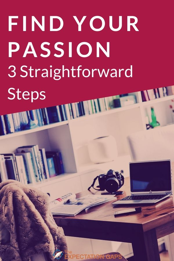 """You're frustrated, """"crazy busy"""", and burned out. You want to find your passion, but you don't know how to get off the hamster wheel. Then it's time to start listening to and trusting yourself. How? Click through to discover 3 tips to find your passion. #findyourpassion #mindset #mindfulliving #personalgrowth #intentionalliving #selfawareness #theexpectationgaps"""