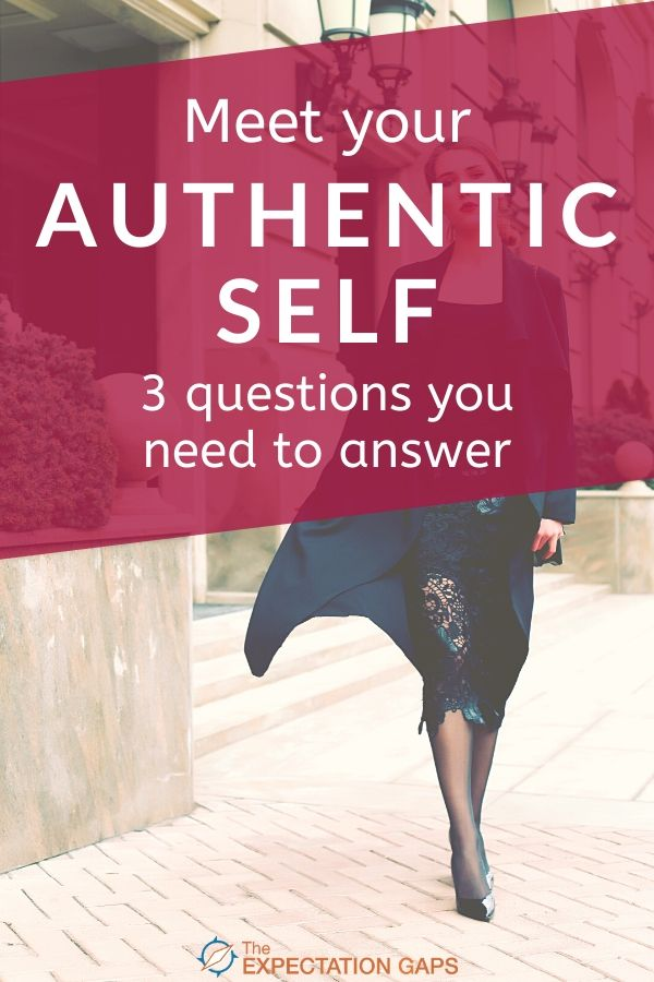 Do you feel like you hide yourself from the outside world? Like you're playing a character you didn't create? Would you like to stop hiding and find your authentic self? Start by answering these 3 questions to gain some of the self-awareness that will help you meet your authentic self. #selfawareness #acceptyourself #selfcaretips #personalgrowth #intentionalliving #theexpectationgaps