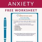 We all suffer from some form of anxiety, right? So let's intentionally face our anxiety and tell it that it can't control our lives any more! Let's start by identifying what triggers our anxiety. Our full-length post will give you inspiration, and our FREE WORKSHEET will help you go from inspiration to action. #printableworksheets #calmanxiety #stressmanagement #selfcaretips #intentionalliving #dailyhabits #selfdevelopmentplan #theexpectationgaps