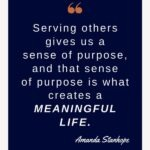 To live a meaningful life, you have to serve others. Serving others gives us a sense of purpose, and that sense of purpose is what creates a meaningful life. Yes, it's really that simple. In this short post we'll explore 3 daily habits you can practice to serve others all day long. #meaningfullife #findyourpurpose #purposedrivenlife #mindsetshift #liveyourbestlife #selfawareness #dailyhabits #emotionalwellbeing #intentionalliving #personalgrowth #theexpectationgaps