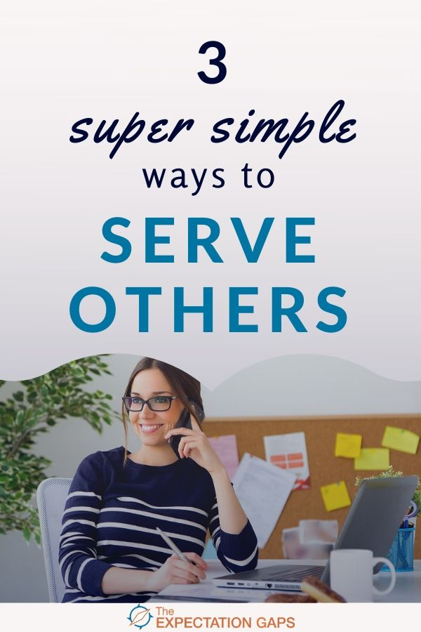 To live a meaningful life, you have to serve others. Serving others gives us a sense of purpose, and that sense of purpose is what creates a meaningful life. Yes, it's really that simple. In this short post we'll explore 3 daily habits you can practice to serve others all day long. #meaningfullife #bethechange #changetheworld #mindsetshift #liveyourbestlife #selfawareness #dailyhabits #emotionalwellbeing #intentionalliving #personalgrowth #theexpectationgaps
