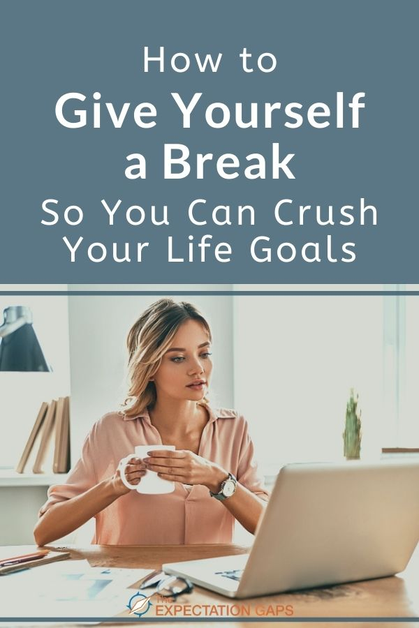 Would you like to enjoy the journey of your life? Rather than just focusing your life goals, career goals, or relationship goals. But you always feel like you're being pulled in so many directions? Then it's time to give yourself a break! This short post will empower you to take action toward giving yourself a break today! #selfcare #selfawareness #mindfulliving #wellbeing #changeyourlife #lifelessons #intentionalliving #anxiety #personaldevelopment #personalgrowth #theexpectationgaps